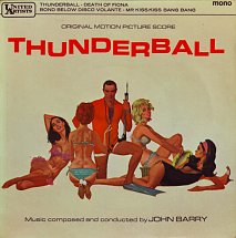 John Barry - Thunderball (United Artists 1965)